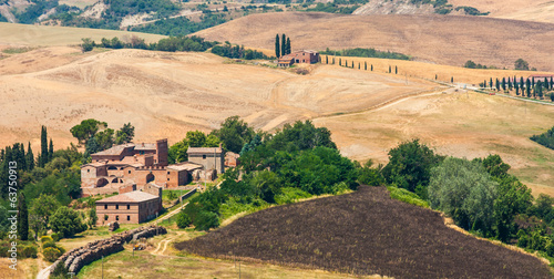 Country in Tuscany