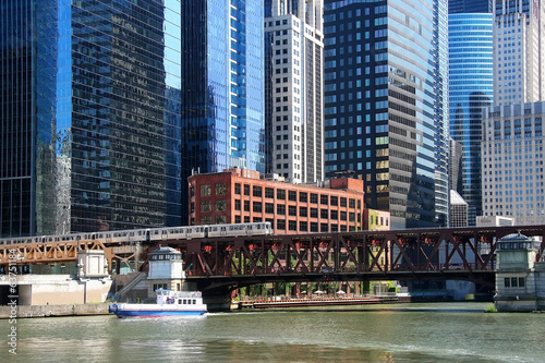 Chicago bridge and rail