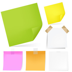 Color Notes Paper Set