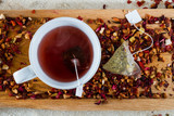 Deicious caffeine-free infusion of dried fruit poster