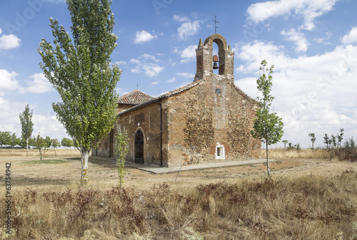 a church in the countryside