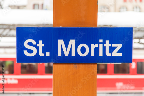 St. Moritz Train Station