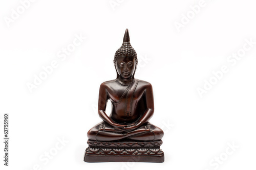 Buddha figure isolated
