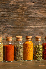 Spices, herbs and seeds