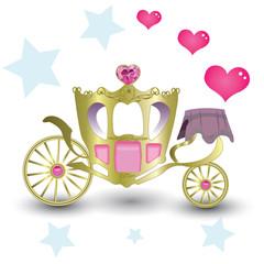 Luxurious Carriage Princess