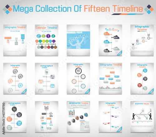 MEGA COLLECTION OF FIFTEEN TIMELINE