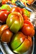 Buffet Teller mit Tomaten geschnitten