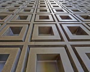 3d metallic abstract pattern, strong bokeh