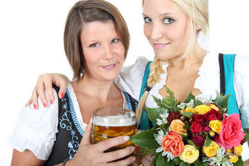Blumen und Bier