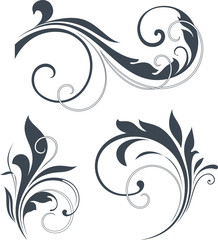 vectorized scroll set