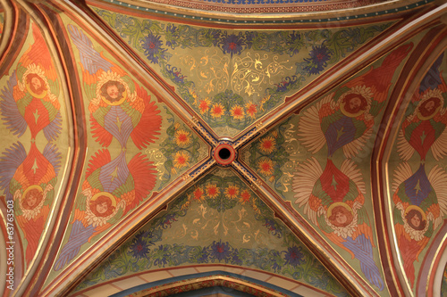 Decorated ceiling