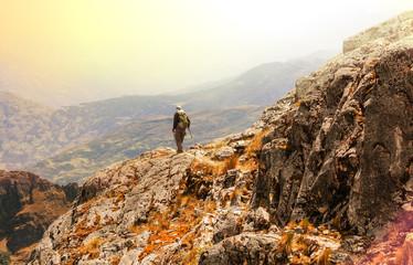 Hike in Bolivia