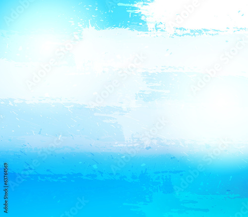 Abstract grunge blue background