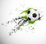 Fototapety Soccer design