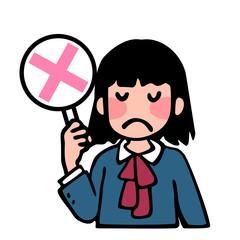 女子生徒のNG