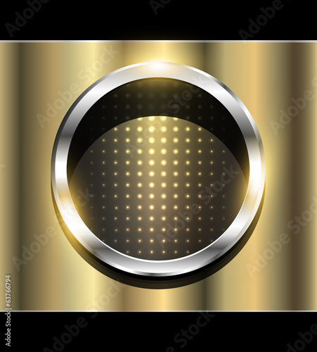 Abstract background 3D elegant gold