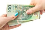 Waluta  - pieniądze - złotówki - finanse