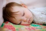portrait of adorable sleeping baby