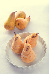 PEAR in pastry