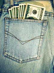 vintage  Dollars in your pocket.