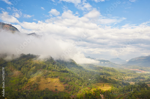 Mountains in Sri Lanka