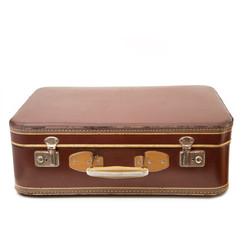valigia vintage chiusa