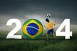Celebrating world cup 2014