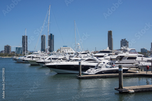 Marina on Australia's Gold Coast.