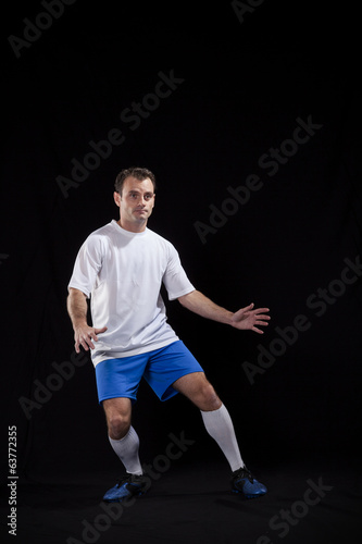 canvas print picture Soccer player