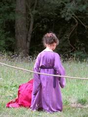 medieval disguised girl