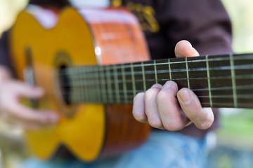Guitarist in the street