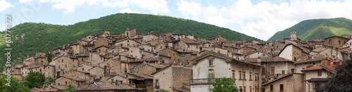 The ancient village of Scanno