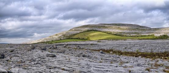 The Burren is a karst-landscape region