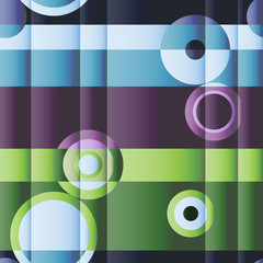 Seamless cubism background