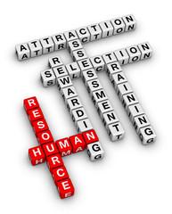 human resource crossword