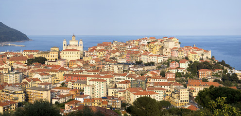 Imperia. Ancient coastal city in the region of Liguria, Italy