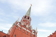 Moscow Kremlin tower, Red Square, Moscow, Russia