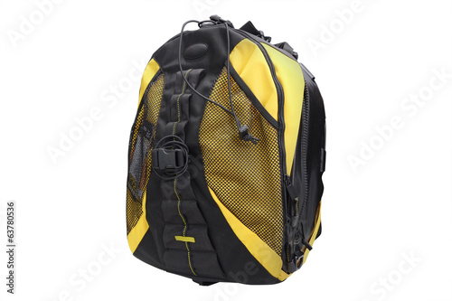 The image of rucksack
