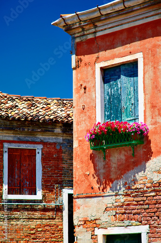 Murano windows, Veneto, Italy