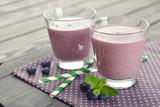 Fototapety Blueberry smoothie