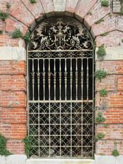 Ornate Victorian English iron gate
