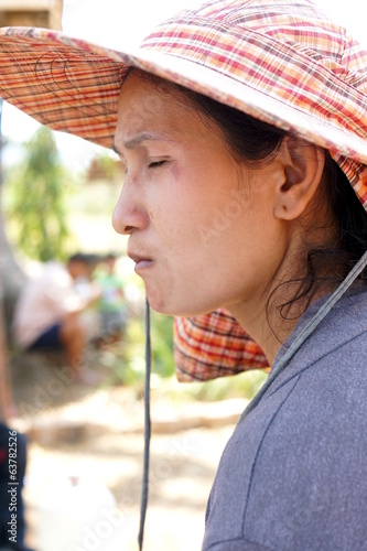Disappointed Asian Girl