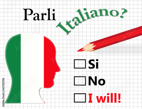 Do you speak Italian?