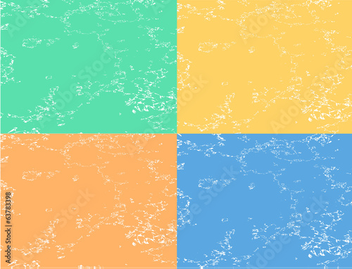 abstract flat background four colors