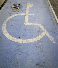 disabled driver parking