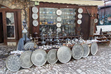Souvenir shop in Saftanbolu, Turkey