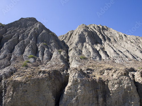 Mountain scenery on the coast of the Crimea.