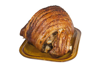 Roast Leg of Pork with Crispy Crackling