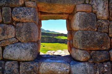 Ruínas em Cusco, Peru