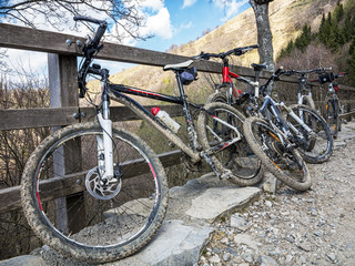 Mountain bike nelle alpi